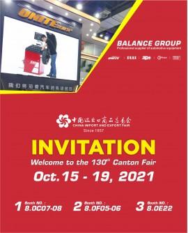 130th Canton Fair Invitation From Balance
