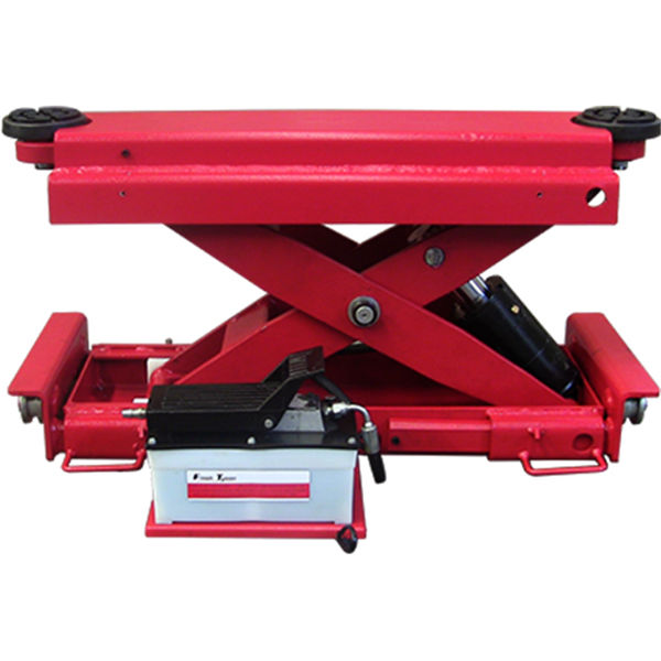 U-X30TQ rolling jack for full wheel service