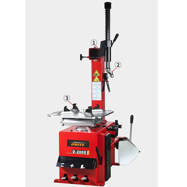 U-200U swing arm motorcycle tire changer