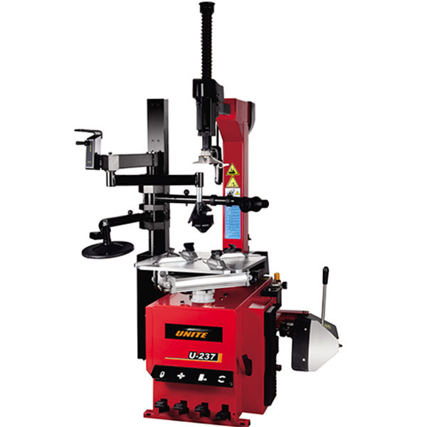 U-237 semi-automatic tilt back tower tire changer