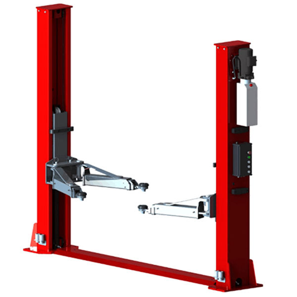 U-T50E floor cover plate 5t capacity two post vehicle lift