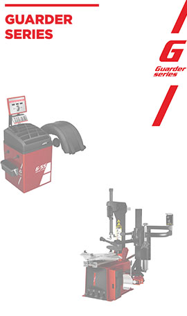 Guarder Tire Changer and Wheel Balancer
