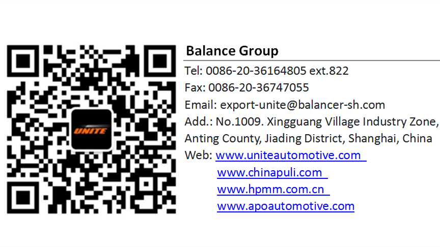 Shanghai balance automotive equipment co., ltd. http://www.uniteautomotive.com